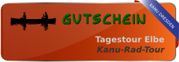 Gutschein Kanu-Rad-Tour